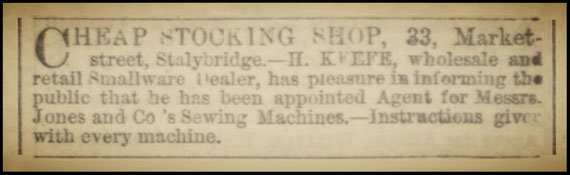 The Ashton Weekly Reporter - Saturday 02 January 1869