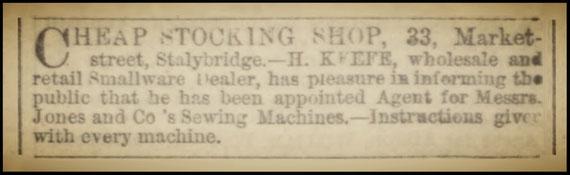 The Ashton Weekly Reporter - Saturday 02 January 1869