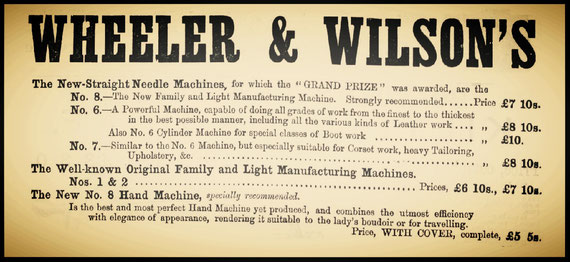 Advertisement  April 1880
