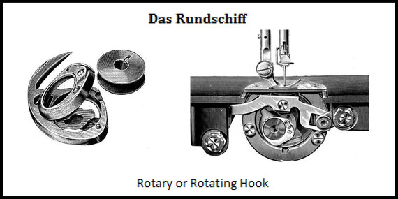 (Wheeler & Wilson)  Rotating Hook or Rotating Shuttle