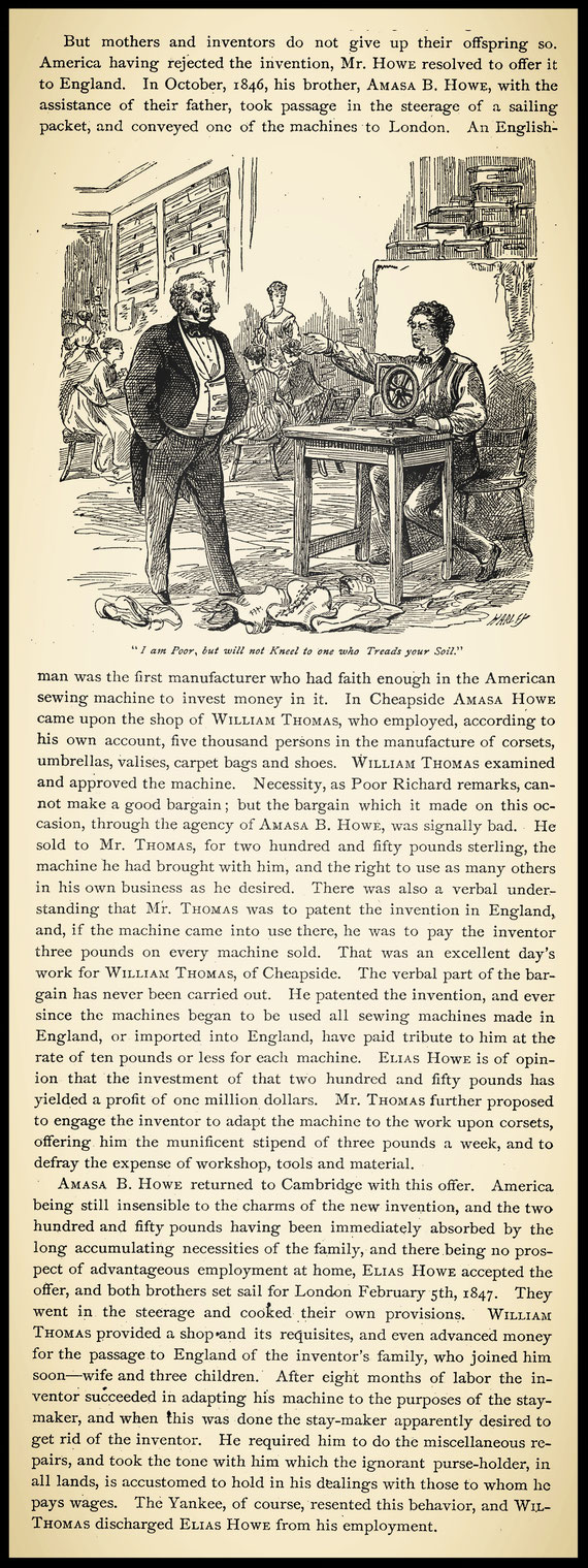 History of the sewing machine by James Parton  (1872)