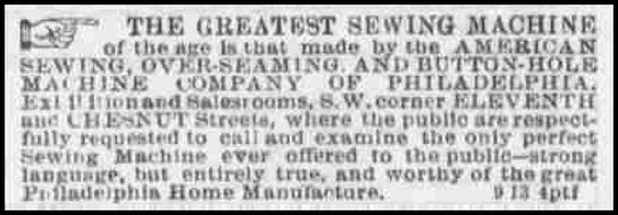The Evening Telegraph September 1867