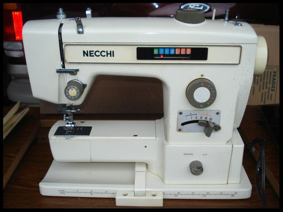 "Necchi  "" Model  541 """
