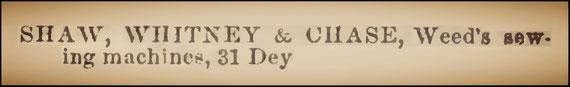 1862-3  N.Y.  Directory