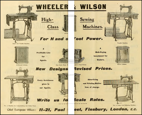 1905 The Sewing Machine Gazette