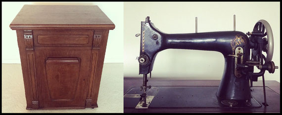 Mundlos 100 with treadle style since 1913