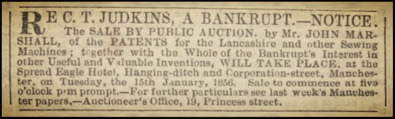 Manchester Courier - 12 January 1856