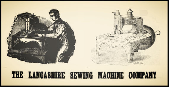 1859  THE LANCASHIRE SEWING MACHINE COMPANY (? Maybe)