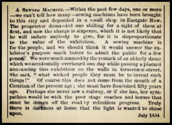 Chester Chronicle - 22 July 1854