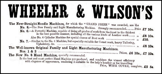 1880 The Sewing Machine Gazette