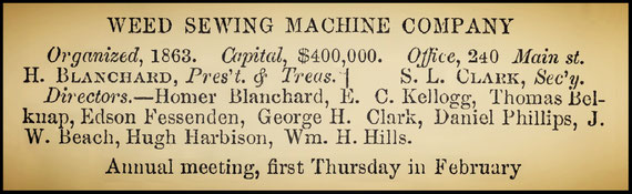1867-68 Hartford Directory