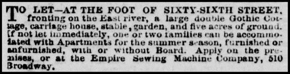 May 1861 New York