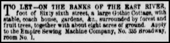 April 1861 - 335 Broadway N.Y.