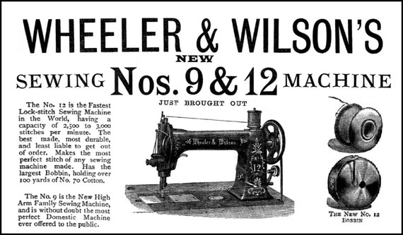 1888 The Sewing Machine Gazette