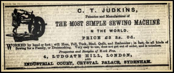 1869 - C.T. JUDKINS