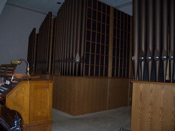 Tel qu'installé à la Maison Mère de la Congrégation de Notre-Dame de Westmount