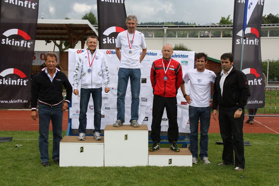 Platz 2 in Landesmeisterschaft M40