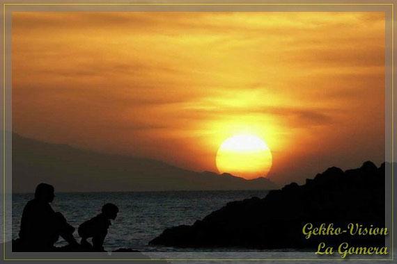 Sonnenuntergang La Gomera