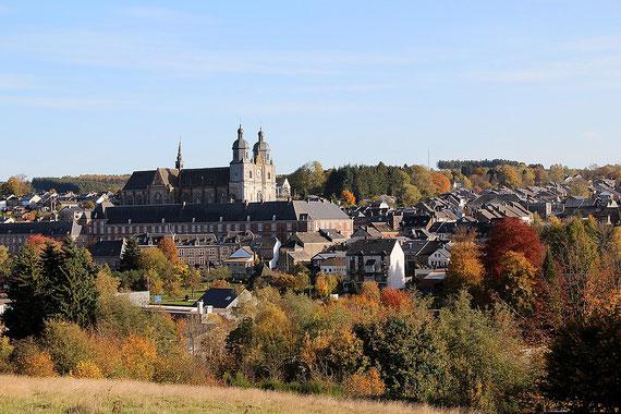 Saint Hubert - Belgien - Wallonie - mit Kathedrale