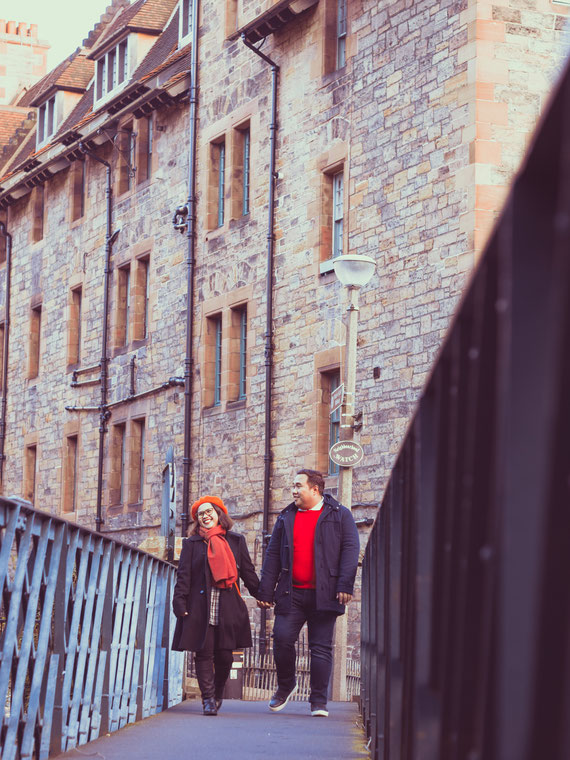dean village couple photography edinburgh