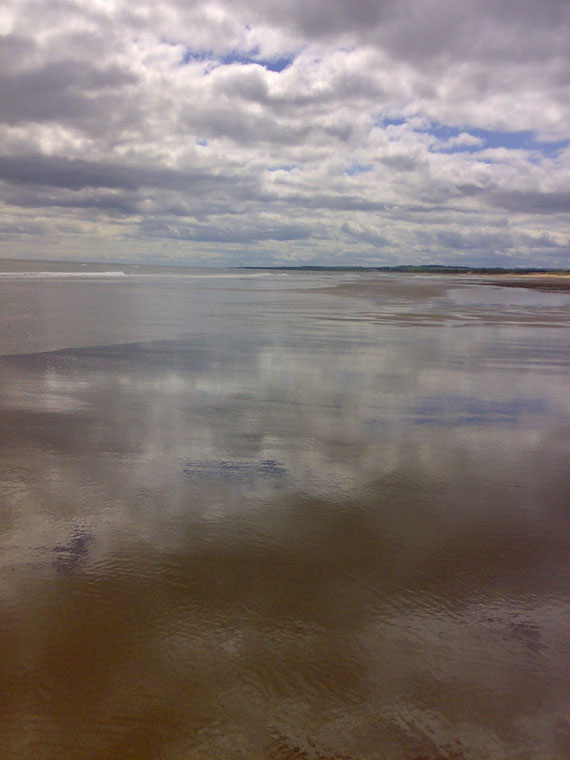 St Cyrus Beach, Scotland - miles of tranquil sandy beach