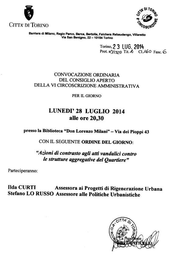 Ilda Curti E Stefano Lorusso alla Falchera