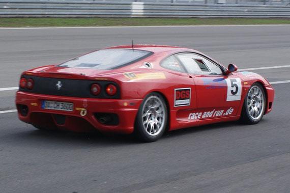 Ferrari 360 Modena Challenge - by Alidarnic (Modena Trackdays 2009)