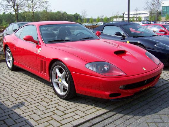 Ferrari 550 Maranello - by Alidarnic