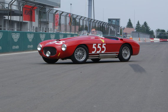 Ferrari 212 Export Touring - by AliDarNic (Modena Trackdays 2009)