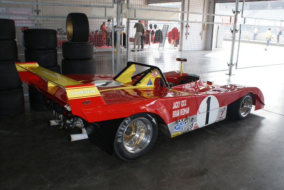 Ferrari 312 PB - by Alidarnic (Modena Trackdays 2009)