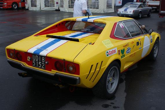 Ferrari Dino 308 GT-4 N.A.R.T. Racing - by Alidarnic (Modena Trackdays 2009)