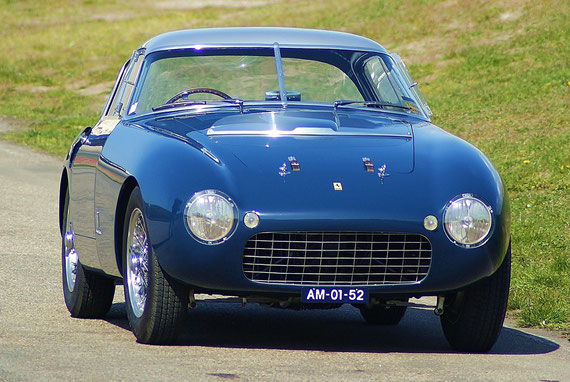Ferrari 166 MM Pinin Farina Coupé - by AliDarNic