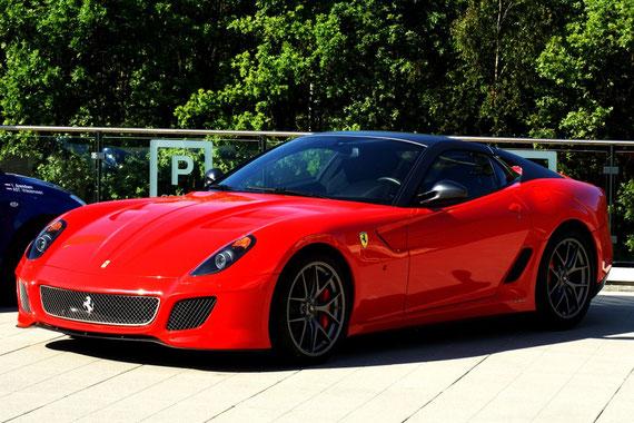 Ferrari 599 GTO / by Alidarnic