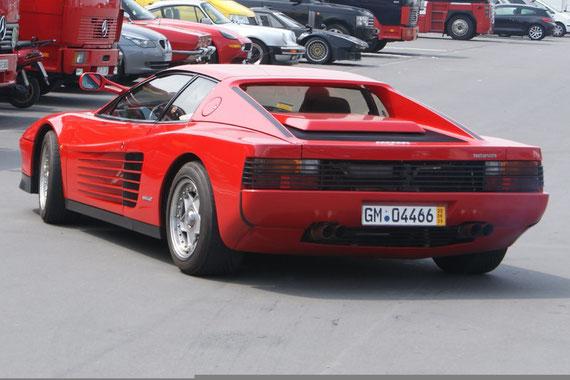 Ferrari Testarossa - by Alidarnic (Modena Trackdays 2009)