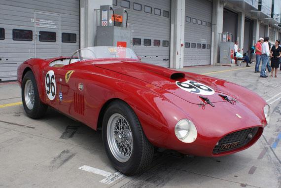 Ferrari 275S/340 MM America - by Alidarnic (Modena Trackdays 2009)