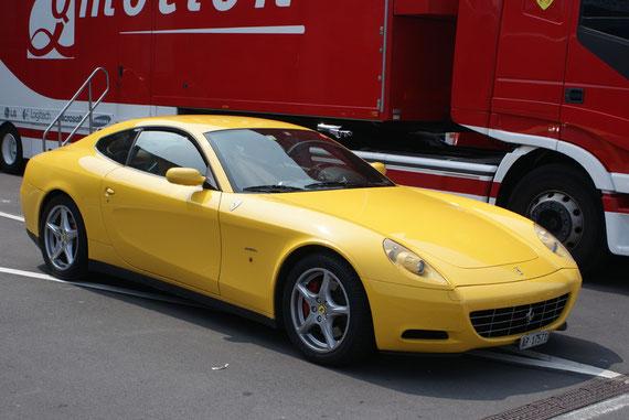 Ferrari 612 Scaglietti - by Alidarnic (Modena Trackdays 2009)