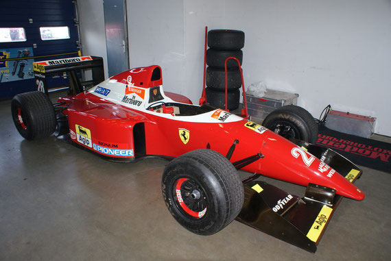 Ferrari F93A - by Alidarnic (Modena Trackdays 2009)