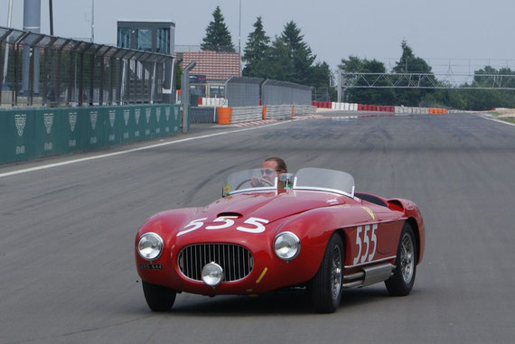 Ferrari 212 Export Touring - by AliDarNic (Modena Trackdays 2009)