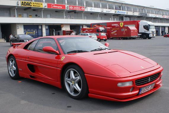 Ferrari F355 GTS - by Alidarnic (Modena Trackdays 2009)