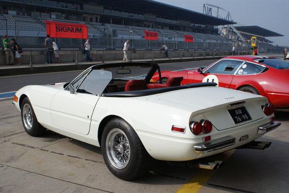 Ferrari 365 GTS-4 Daytona Spyder - by AliDarNic (Modena Trackdays 2009)