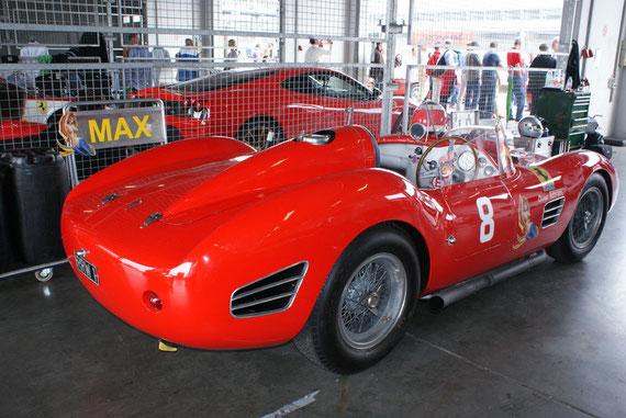 Ferrari 196S/246S Dino - by Alidarnic (Modena Trackdays 2009)