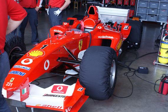 Ferrari F2003GA '03 - by Alidarnic (Modena Trackdays 2009)