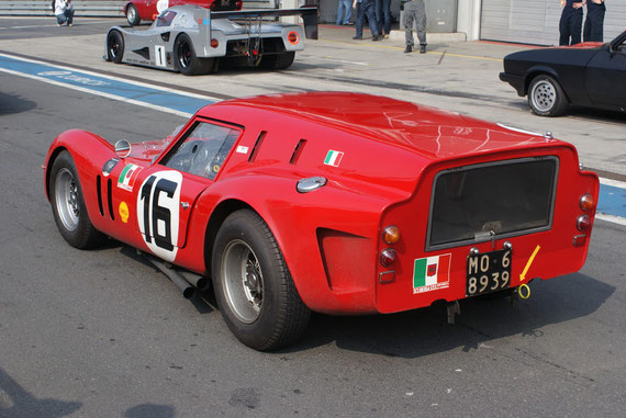 Ferrari 250 GT SWB 'Breadvan' - by Alidarnic (Modena Trackdays 2009)