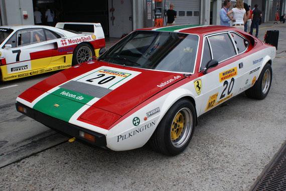 Ferrari Dino 308 GT-4 Racing - by Alidarnic (Modena Trackdays 2009)