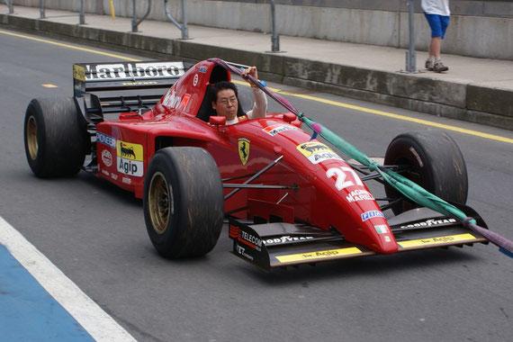 Ferrari 412 T2 ´95 - by Alidarnic (Modena Trackdays 2009)