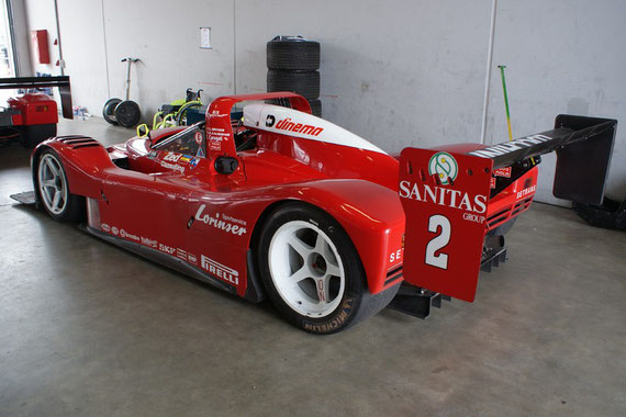 Ferrari 333 SP - by Alidarnic (Modena Trackdays 2009)