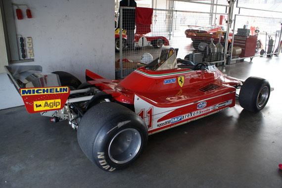 Ferrari 312 T4 '79 - by Alidarnic (Modena Trackdays 2009)