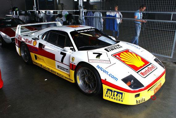 Ferrari F40 GT CSAI (by Michelotto) - by Alidarnic (Modena Trackdays 2009)