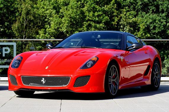 Ferrari 599 GTO - by Alidarnic