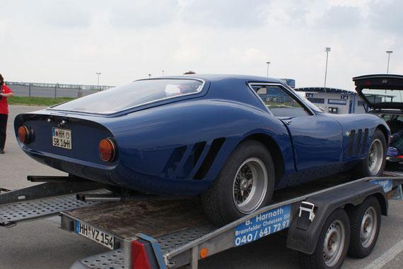 Ferrari 250 GTE 'Drogo' -by AliDarNic (Modena Trackdays 2009)